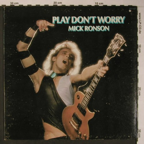 Ronson,Mick: Play Don't Worry, Foc, vg+/m-, RCA / Mainman(APL1-0681), US, co, 1975 - LP - X6235 - 15,00 Euro