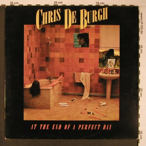 De Burgh,Chris: At The End Of A Perfect Day, m-/vg+, AM(AMLH 64647), NL, 1977 - LP - X6263 - 5,00 Euro