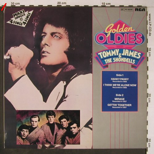 James,Tommy & the Shondells: Hanky Panky +3 ,Musterplatte, RCA(PC 60048), D, m /vg+, 1983 - 12inch - X6311 - 3,00 Euro