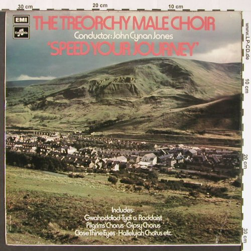 Treorchy Male Choir: Speed Your Journey, EMI/Columbia(SCX 6548), UK, 1973 - LP - X6322 - 6,00 Euro