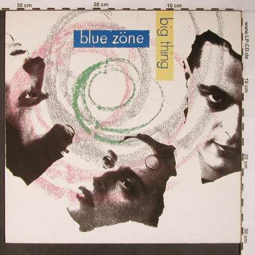 Blue Zöne: Big Thing, Rockin' Horse(ZL71512), D, 1988 - LP - X6332 - 5,00 Euro