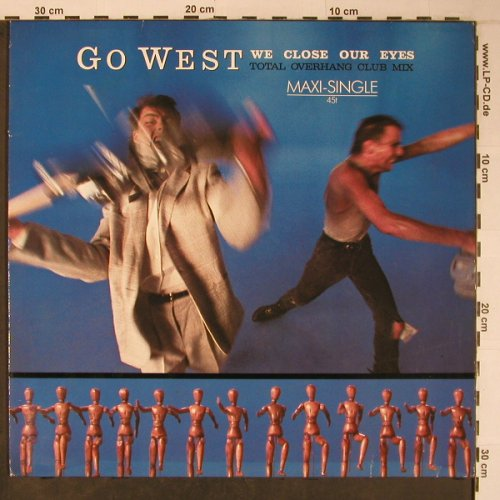Go West: We Close Our Eyes, Chrysalis(601 661-213), D, 1985 - 12inch - X6337 - 5,00 Euro