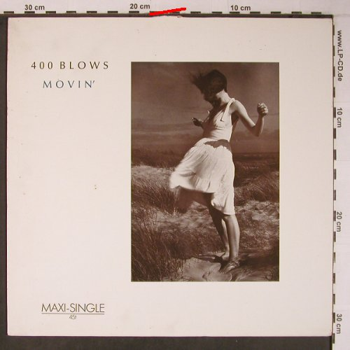 400 Blows: Movin'+2,, m-/vg+, Illuminate(601 840), D, 1985 - 12inch - X6367 - 3,00 Euro