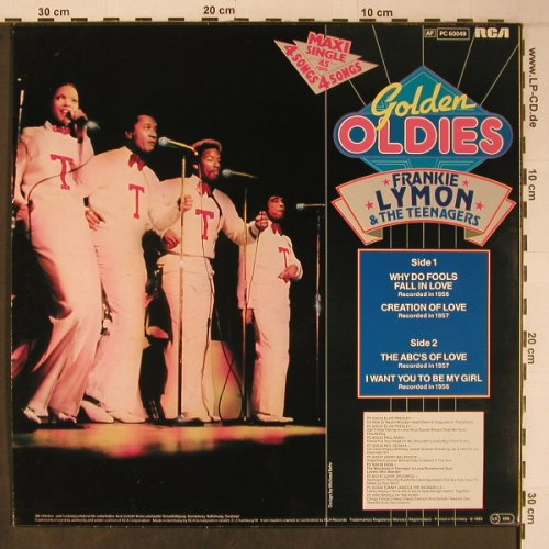 Lymon,Frankie & Teenagers: Golden Oldies, Why do fools...,4Tr., RCA,Musterplatte(PC 60049), D, 1983 - 12inch - X6380 - 5,00 Euro