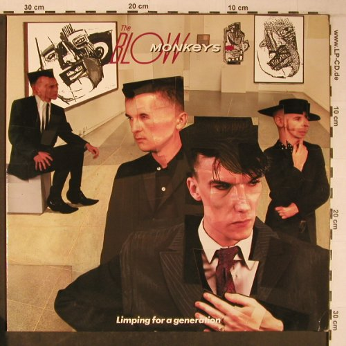 Blow Monkeys: Limping for a generation, RCA(PL 70395), D, 1984 - LP - X6389 - 9,00 Euro