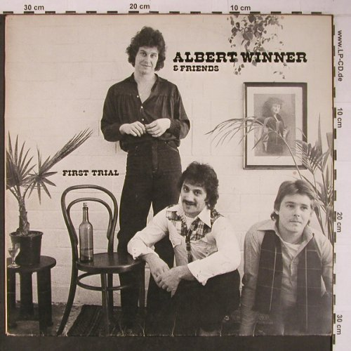 Winner,Albert & Friends: First Trial, bad cond.playable, Albert Winner(270952), D,VG-/vg+, 1978 - LP - X6422 - 18,00 Euro