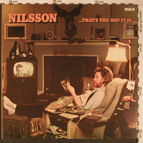 Nilsson,Harry: ...That's The Way It Is,(like new), RCA, Musterplatte(26.21783 AS), D, Ri, 1976 - LP - X6479 - 10,50 Euro
