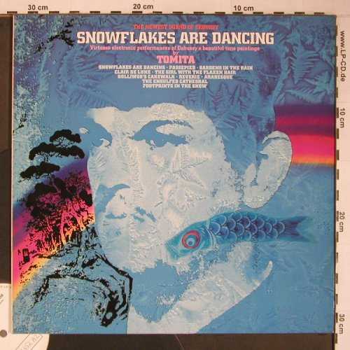 Tomita: Snowflakes Are Dancing, RCA,Musterplatte(PL84587), D,like new, 1982 - LP - X6617 - 20,00 Euro