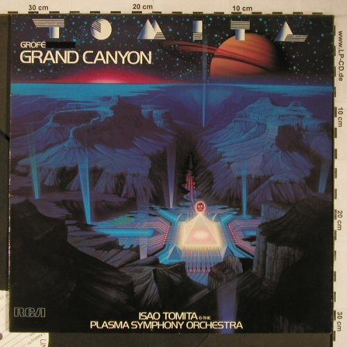 Tomita: Grand Canyon, Musterplatte, RCA(PL 14317), D,like new, 1981 - LP - X6618 - 20,00 Euro