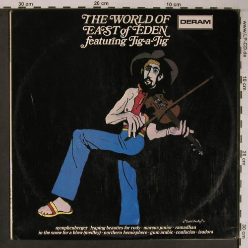 East Of Eden,feat. Jig-a-Jag: The World Of, Deram(SPA 157), UK, 1971 - LP - X6690 - 20,00 Euro