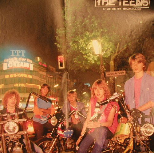 TEENS: Rock City Nights, ONLY POSTER, Hansa(203 103-320), D, 1980 - Poster - X6744 - 3,00 Euro