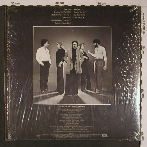 Troiano Band,Domenic: The Joke's On Me, Capitol(SW-11772), US, 1978 - LP - X6778 - 25,00 Euro