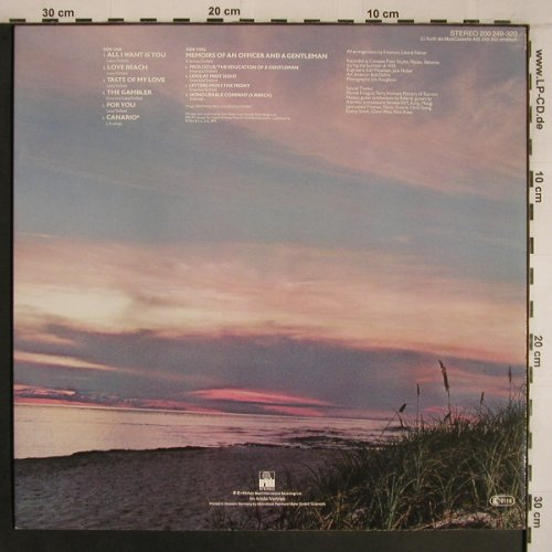 Emerson Lake & Palmer: Love Beach, Ariola(200 249-320), D, 1978 - LP - X6840 - 6,00 Euro