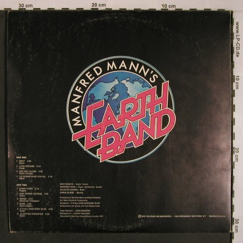 Mann's Earth Band,Manfred: Glorified Magnified, Foc, m-/vg+, Polydor(PD 5031), US, 1972 - LP - X6845 - 19,00 Euro