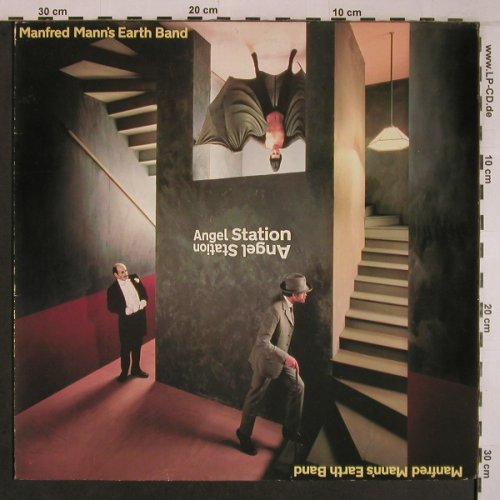 Mann's Earth Band,Manfred: Angel Station, m-/vg+, Bronze(200 367-320), D, 1979 - LP - X6846 - 6,00 Euro