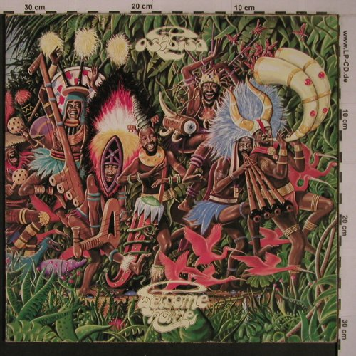 Osibisa: Welcome Home,Foc ONLY COVER,vg+, Bronze(28 787 XOT), D, 1975 - COVER - X6933 - 4,00 Euro
