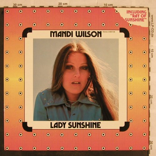 Wilson,Mandi: Lady Sunshine, Finger(2396 106), , 1973 - LP - X720 - 7,50 Euro