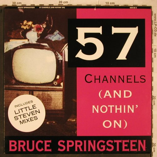 Springsteen,Bruce: 57 Channels(and nothin on )*4, Columbia(658138 6), NL, 1992 - 12inch - X740 - 5,00 Euro