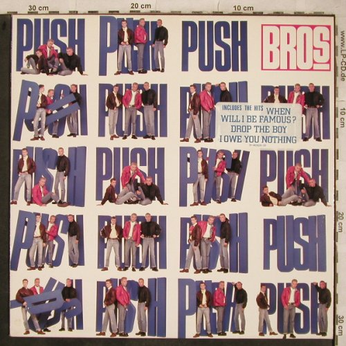 Bros: Push, CBS(460629 1), NL, 1988 - LP - X756 - 5,00 Euro