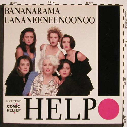 Bananarama: Help / Love in the Factory, London(886 493-1), D, 1989 - 12inch - X823 - 3,00 Euro