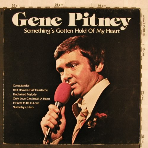 Pitney,Gene: Something's Gotten Hold Of My Heart, Strand(6.24893 AS), D, 1981 - LP - X84 - 4,00 Euro