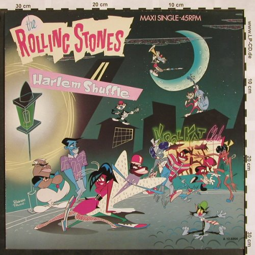 Rolling Stones: Harlem Shuffle*2+1, CBS(A 12.6864), NL, 1986 - 12inch - X861 - 6,00 Euro