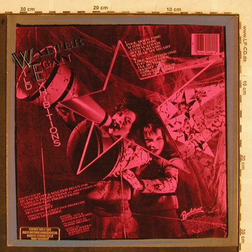 Egan,Walter: Wild Exhibitions, Export-Stamp, Backstreet(BSR 5400), US, 1983 - LP - X89 - 4,00 Euro