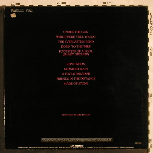 Poco: Under The Gun, MCA(MCA-5132), US,co,stol, 1980 - LP - X958 - 4,00 Euro