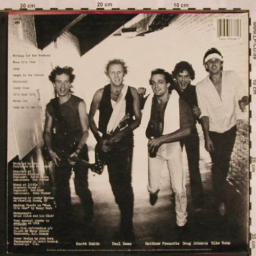 Loverboy: Get Lucky, Columbia(FC 37638), US, 1981 - LP - X987 - 6,00 Euro