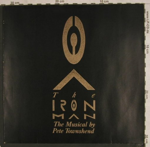 Townshend,Pete: The Iron Man - Musical, Virgin(209 932), D, 1989 - LP - X994 - 5,50 Euro