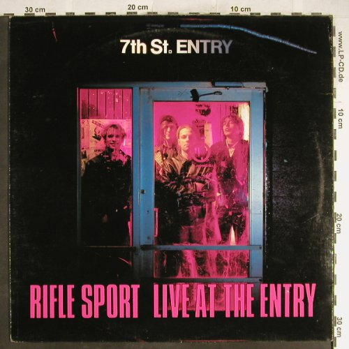 Rifle Sport: Live At The Entry Dead At The Exit, Angry Fish(A.F.M.001), D, 89 - LP - A1119 - 5,00 Euro