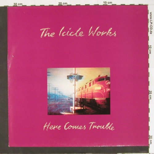 Icicle Works: Here Comes Trouble+3, BBQ(BEG220T), UK, 1988 - 12inch - A1867 - 5,00 Euro