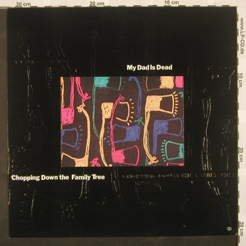 My Dad Is Dad: Chopping Down The Family, Houses In(), blueVinyl,  - LP - A2193 - 9,00 Euro
