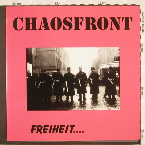 Chaosfront: Freiheit...,Foc, Very Good(), D, 96 - LP - A2770 - 7,50 Euro