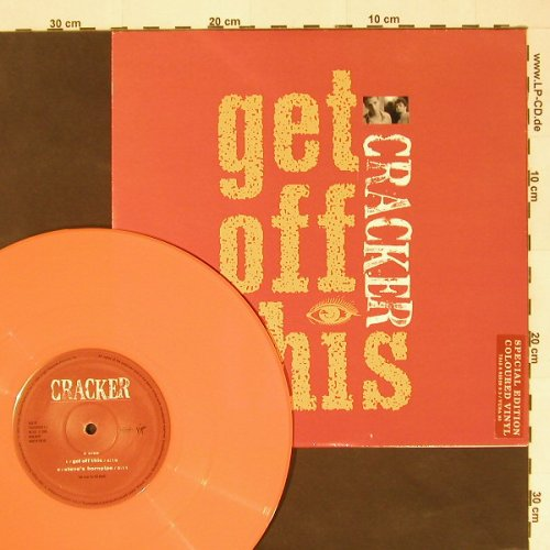 Cracker: Get Off This+3,orange Vinyl, Virgin(), UK, 94 - 10inch - A3759 - 7,50 Euro
