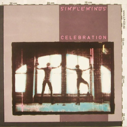 Simple Minds: Celebration, Virgin(204 424), D, 82 - LP - A5882 - 4,00 Euro