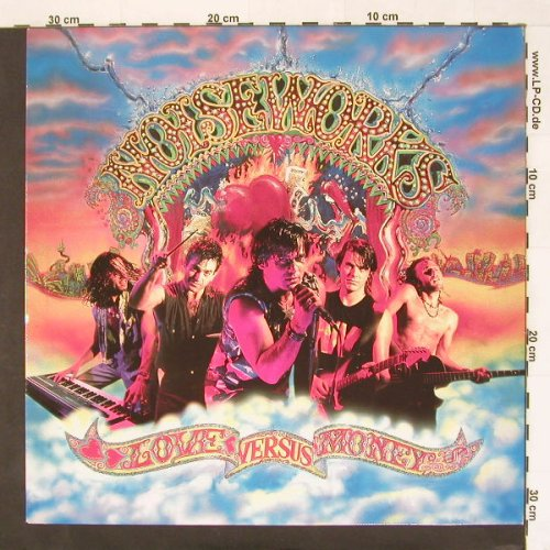 Noiseworks: Love Versus Money, Epic(), NL, 91 - LP - A6031 - 6,00 Euro