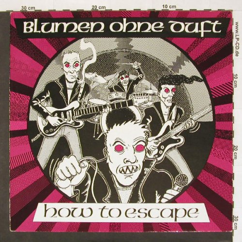 Blumen Ohne Duft: How To Escape,4 Tr., What'sSoF.(WSFA SF 08), D,  - 12inch - A6253 - 5,00 Euro