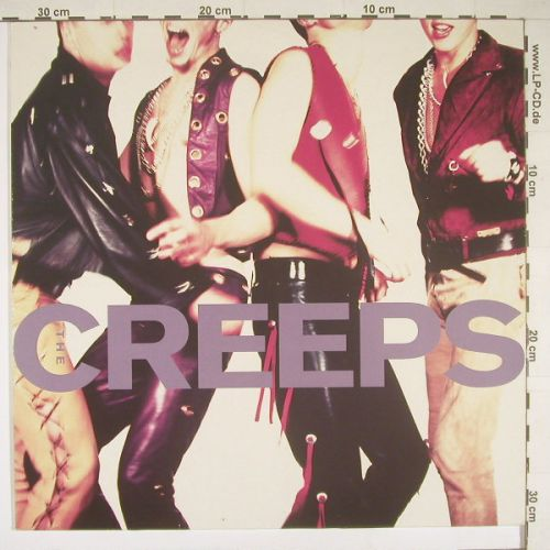 Creeps,The: Blue Tomato, WEA(2292-46246), D, 1990 - LP - A6638 - 5,00 Euro