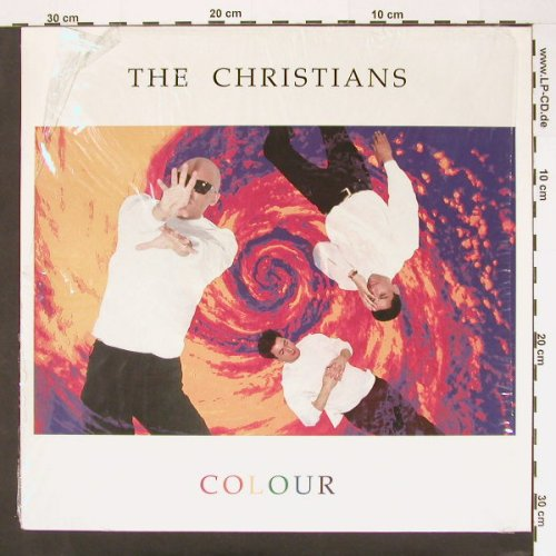 Christians: Colour, Isl.(210 455), D, 89 - LP - A7004 - 4,00 Euro