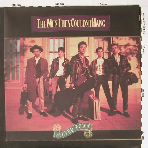 Men They Couldn't Hang: Silver Town,Foc, Jive(ZL 74153), D, 89 - LP - A7048 - 7,50 Euro