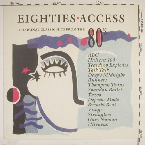 V.A.Eighties Access: 14 Tr., Dino(DIN TV 4), UK,  - LP - A7547 - 4,00 Euro