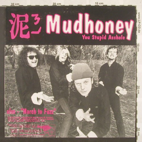 Mudhoney/Gas Haffner: You Stupid Asshole/Knife Manual+2, Empty Rec.(EFA 11352-02), D,  - 12inch - A862 - 7,50 Euro