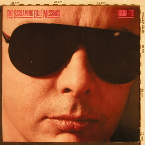 Screaming Blue Messiahs: Bikini Red, WEA(242 212-1), D, 1987 - LP - B1018 - 5,00 Euro
