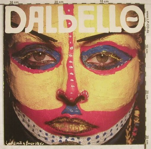 Dalbello: Who Man Four Says, Capitol(2401381), D, 1984 - LP - B1076 - 2,00 Euro