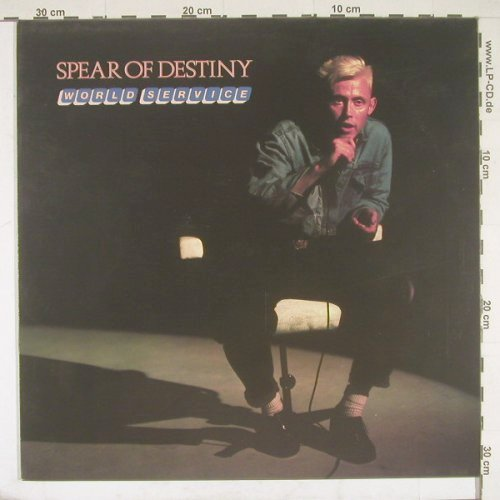 Spear Of Destiny: World Service, Epic(26514), NL, 85 - LP - B2146 - 5,00 Euro