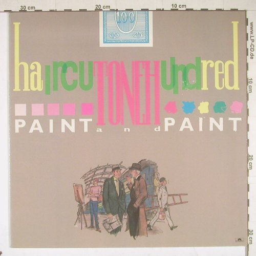 Haircut One Hundred: Paint  And Paint, Polyd.(815 682-1), NL, 84 - LP - B2222 - 5,00 Euro