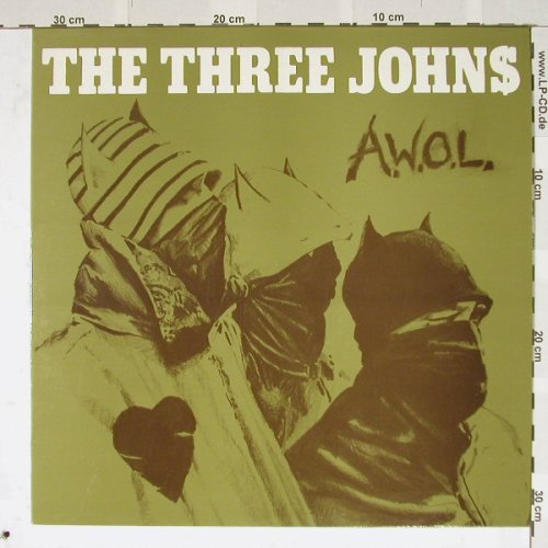 Three Johns: A.W.o.L., Abstract(12ABS019), UK,  - 12inch - B3479 - 5,00 Euro