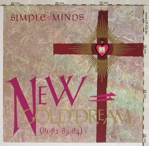 Simple Minds: (81-82-83-84)New Gold Dream, Virgin(204 965-320), D, 1982 - LP - B4002 - 5,50 Euro