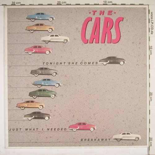 Cars: Tonight She Comes+2, Elektra(966 873-0), D, 85 - 12inch - B4417 - 3,00 Euro
